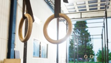 calisthenics gym witt pull up bar and gym rings