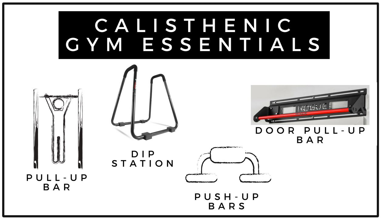 list of calisthenic gym essentials