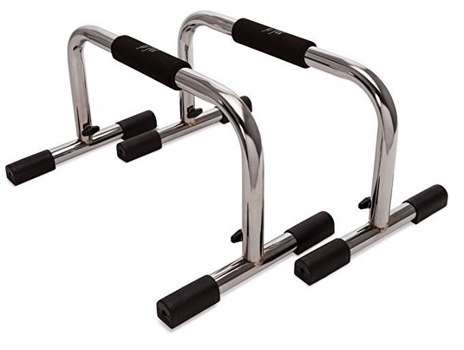 set of push-uip bars
